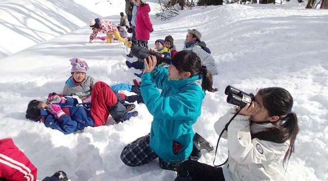 新潟の山里で、とことん雪遊び!3月28日から