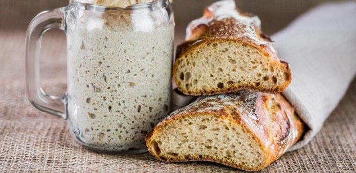 pan, masa madre, levadura, cuarentena