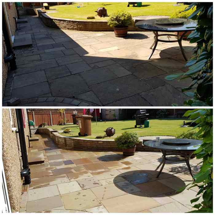 IMG_20180629_210927_536 Indian Sandstone Patio Cleaning - Higher Bebington, Wirral