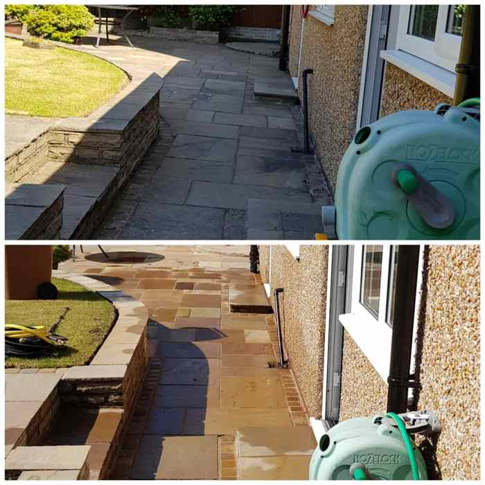 IMG_20180629_210927_537 Indian Sandstone Patio Cleaning - Higher Bebington, Wirral