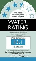 water rating logo