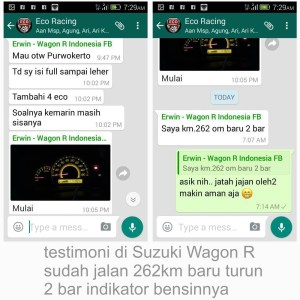 testimoni eco racing di Banjarmasin 1