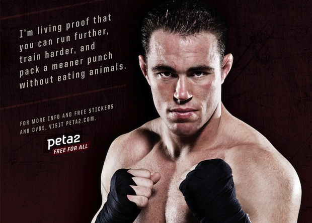 Jake Shields is a lifelong vegetarian who made the switch to vegan in 2011.