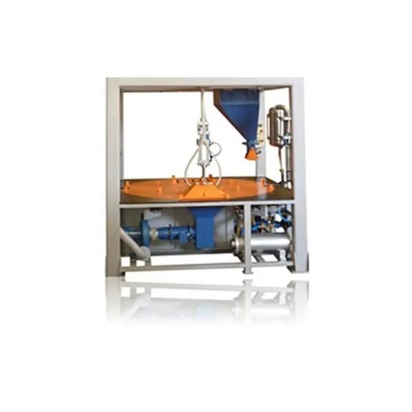 bancada de moldagem e gasagem rotativa modelos bmgr 4e eco sand