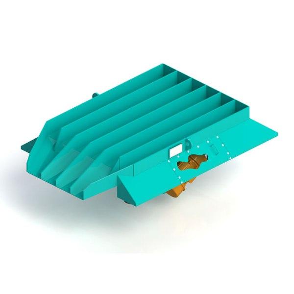 desmoldadores vibratórios modelo dmv 15x2 eco sand