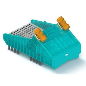 desmoldadores vibratorios-modelo dmv 3x4 eco sand
