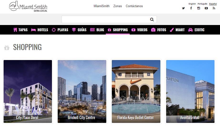Centros Comerciales Miami