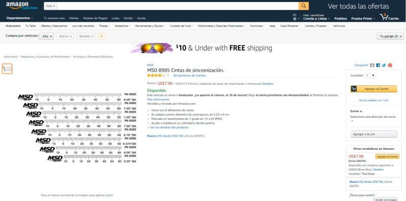 Haz un solo envío express a Venezuela y compra varios artículos