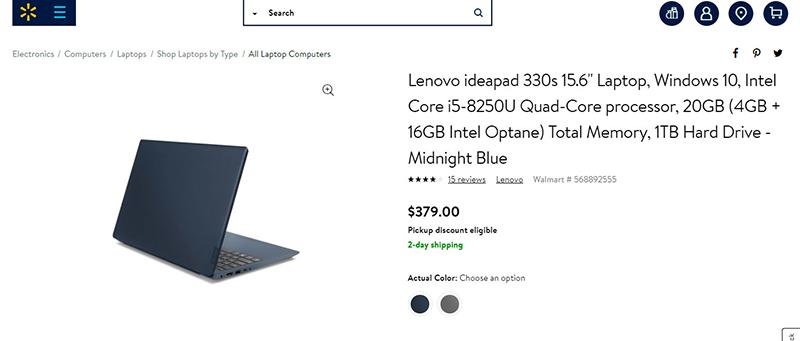 Qué está de tendencia en Walmart - Lenovo
