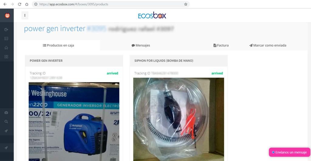 Cuánto cuesta enviar un generador portátil