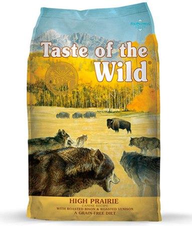 Alimento comercial para perros súper premium Taste of the Wilde