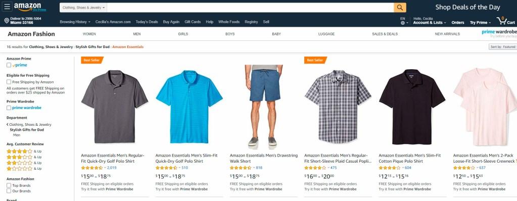Regalos para el Día del Padre en Amazon - Camisas y chemises