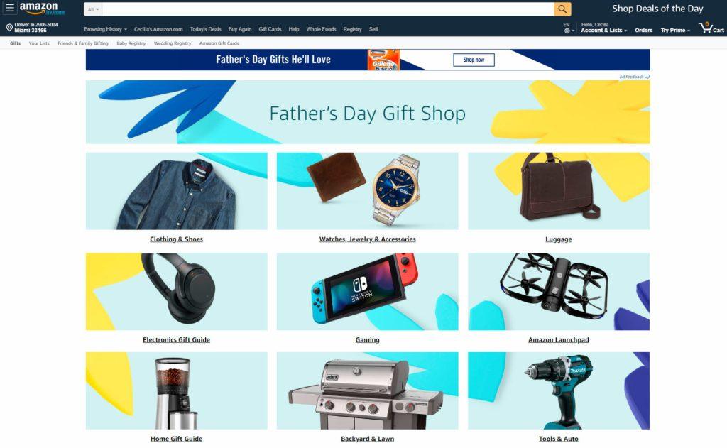 Regalos para el Día del Padre en Amazon