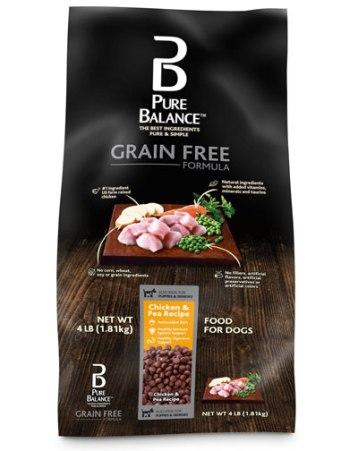 Alimento comercial para perros Pure Balance
