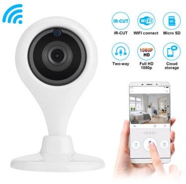 AGPtek Wireless WiFi IP CCTV Cámara Seguridad interior Pan Tilt Night Vision Cam HD