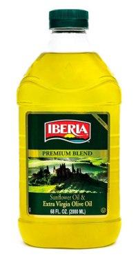 Aceite de oliva extra virgen y aceite de girasol