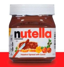 Nutella en Amazon y Walmart