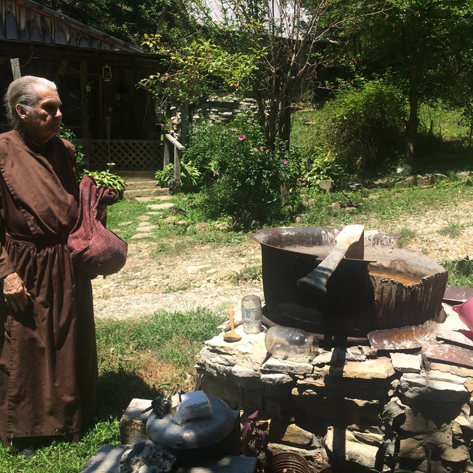 This 88 Year Old Women Lives Alone & Completely Off The Grid...