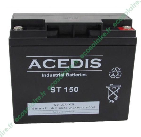 Batterie étanche AGM ST150