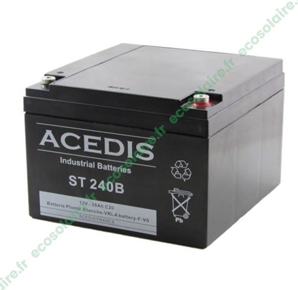 Batterie étanche AGM ST240B