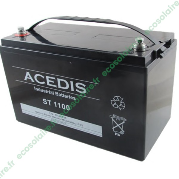 Batterie étanche AGM ST1100
