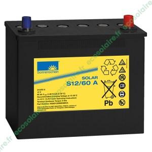Batterie Sonnenschein Solar S12/60