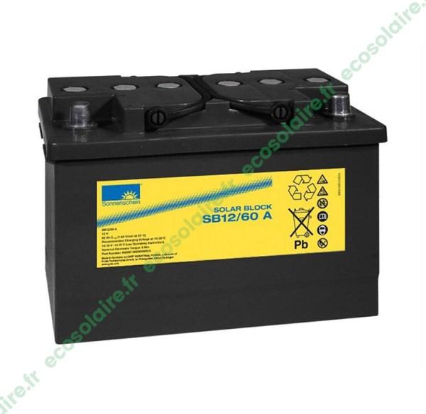 Batterie Sonnenschein Solar Block SB12/60