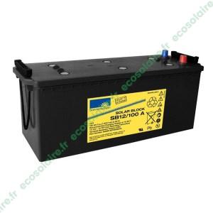 Batterie Sonnenschein Solar Block SB12/100