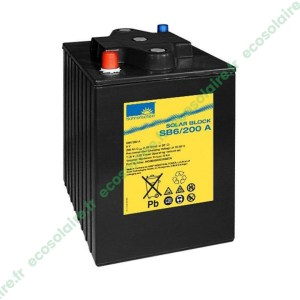 Batterie Sonnenschein Solar Block SB6/200