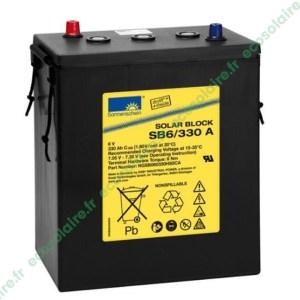 Batterie Sonnenschein Solar Block SB6/330