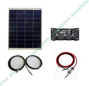 Kit autonome solaire 80W