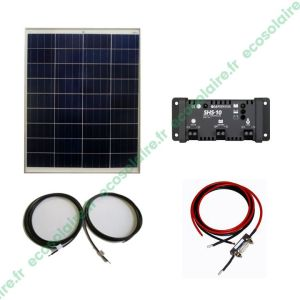 E1550080A KIT ECOSOLAIRE AUTONOME 80Wc 12V 11 2017 V1