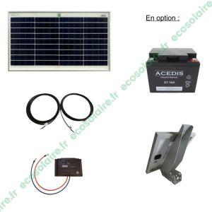 Kit autonome solaire 30W