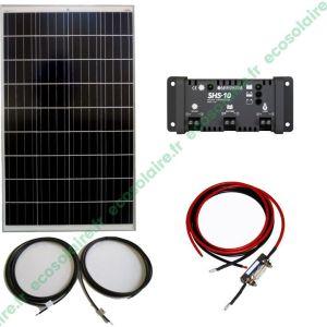 Kit autonome solaire 110W