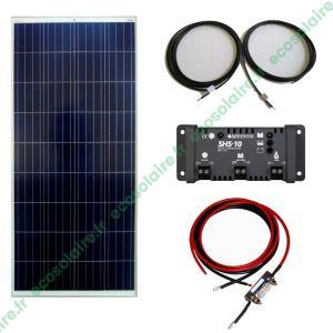 Kit autonome solaire 125W