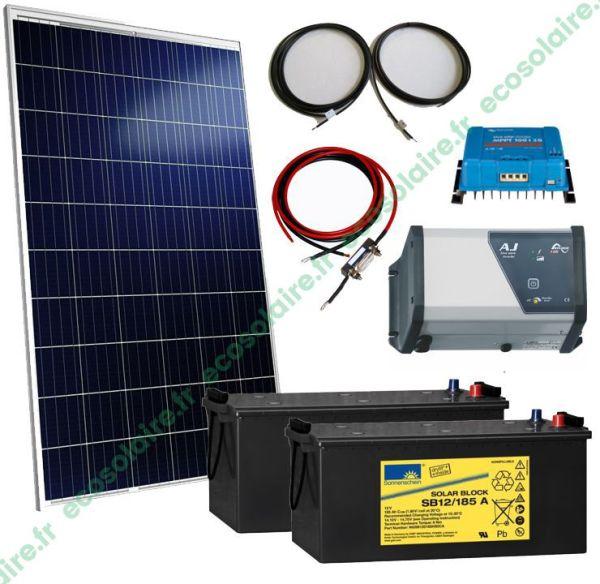 kit autonome solaire 285W 230V