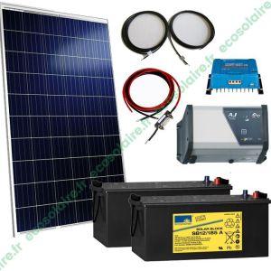 Kit autonome solaire 265W 230V
