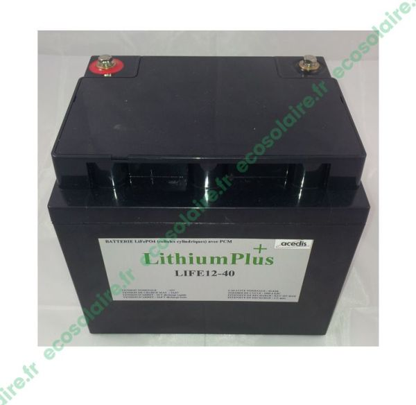 Batterie Lithium LiFePO4 LIFE12-40