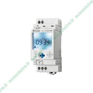 Interrupteur horaire Digital 1 INV 16A 12-24V DC