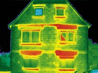 Coibentazione cassonetti tapparelle - termografia della disperzione