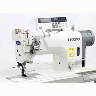 Máquina de dos agujas y doble arrastre brother t-8420c-0003
