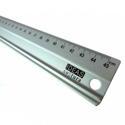 Regla metálica de 45cm