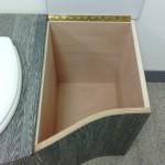 toilette sèche compartiment droit
