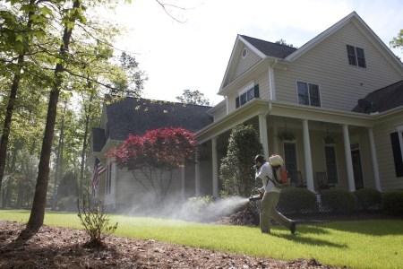 Durham NC Pest Control Company Spraying