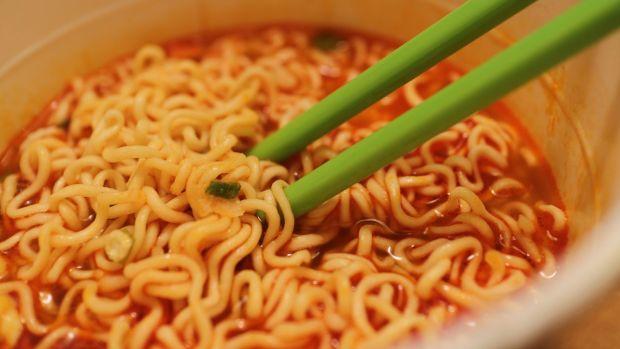 Alimentos procesados: Sopas instantáneas