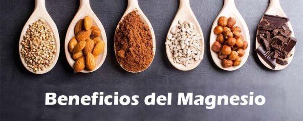Beneficios del magnesio