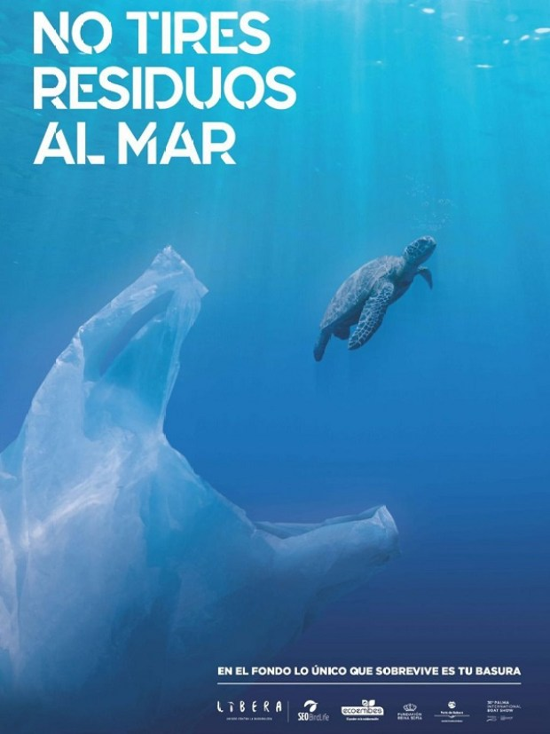 La nueva campaña sobre la basuraleza llega a los puertos deportivos de Baleares
