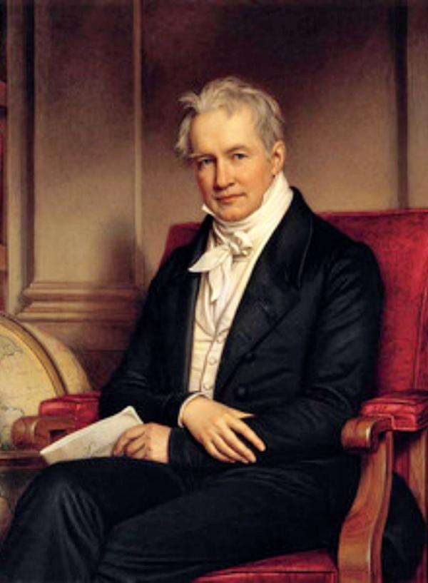 What do we conservationists owe Alexander von Humboldt?