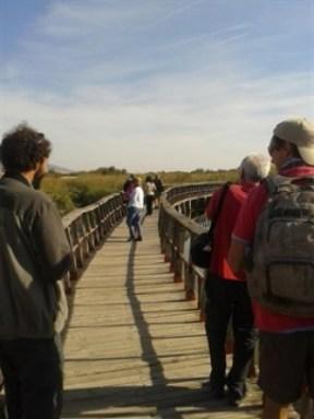 Un grupo de periodistas del norte de Europa conocen Cabañeros, Tablas y Lagunas de Ruidera