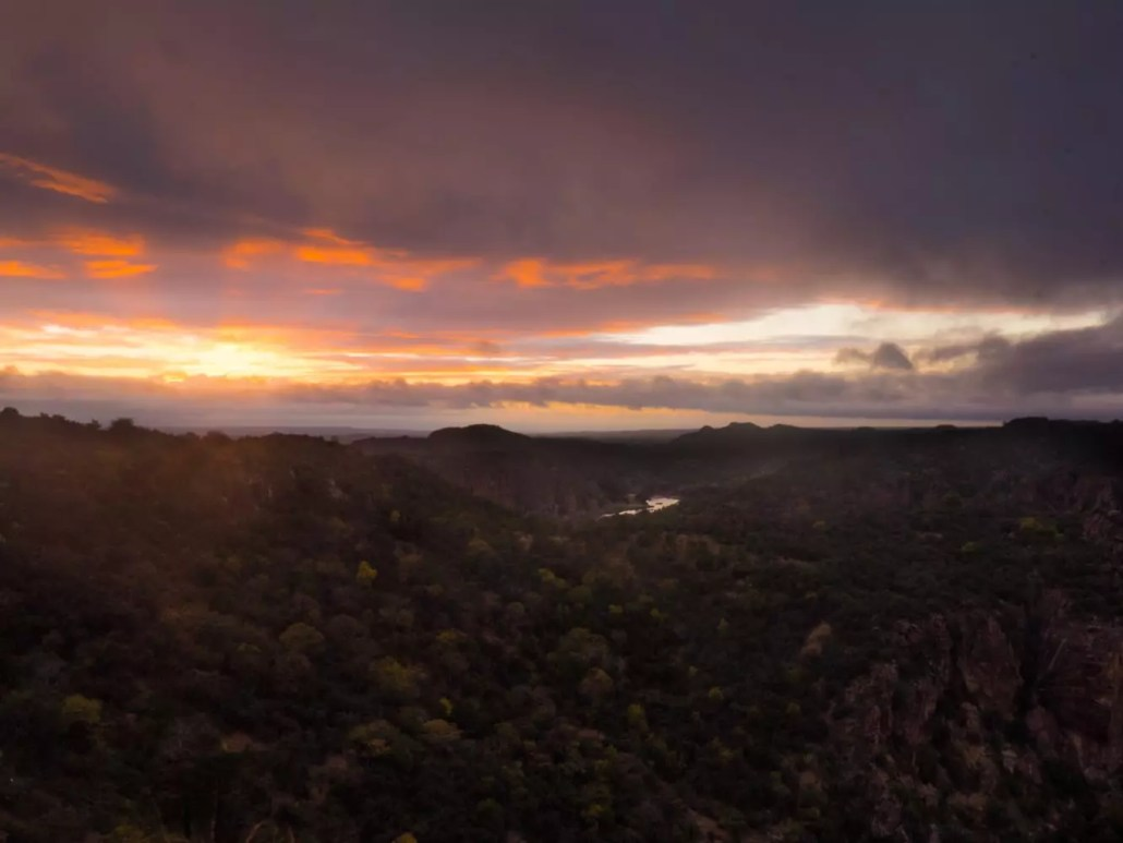 Lanner Gorge Sunrise